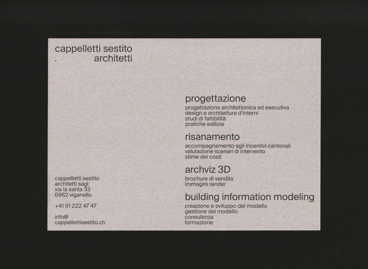 Cappelletti Sestito Architetti - FAVON.IO